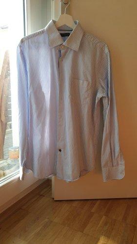 Weiß blau gestreiftes Hemd der Marke Tommy Hilfiger zu verkaufen