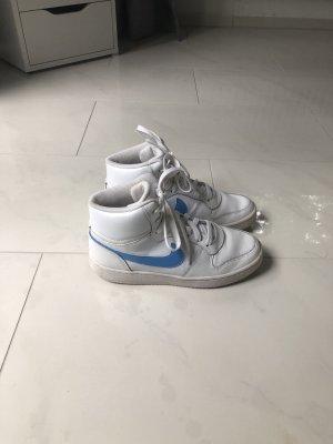 Weiß blaue Nike sneaker 38,5