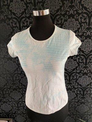 Weiß/blaues T-Shirt von Imitz, Gr. M