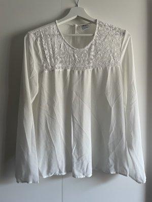 Weiß Creme farbende Bluse von Vero Moda