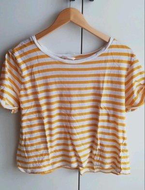 H&M Koszula o skróconym kroju Wielokolorowy