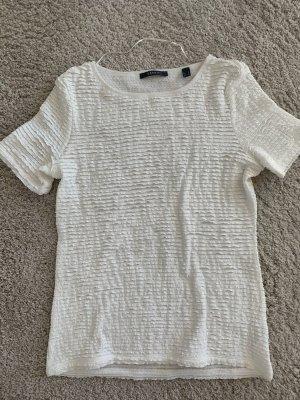 Esprit Ribbed Shirt white