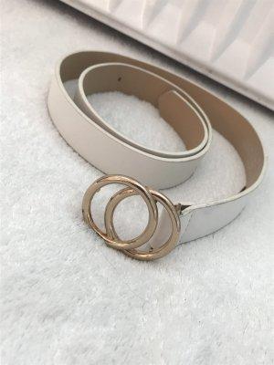 New Yorker Waist Belt white-gold-colored