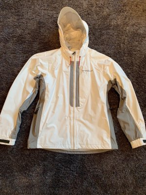 Weiß-Graue Regenjacke Henri Lloyd 40