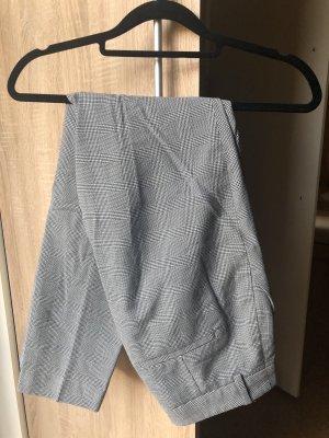 H&M Spodnie biodrówki biały-szary