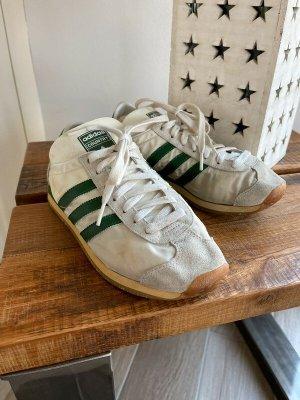 Weiß/grüne Turnschuhe / Sneakers von Adidas Country, Gr. 38