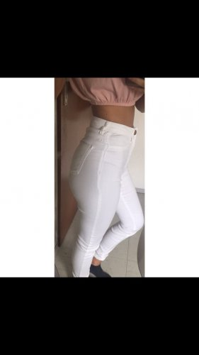 Tally Weijl Hoge taille jeans wit