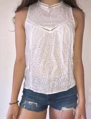 Abercrombie & Fitch Blouse Top white