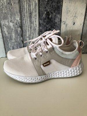 weiß rosa blaue Bench Turnschuhe / Sneakers - wie neu - Gr. 38