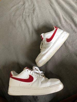 weiß/rote Nike Airforce 1