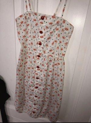 Vero Moda Sukienka z dekoltem typu bandeau Wielokolorowy