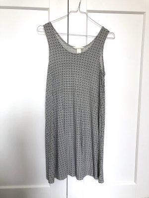 H&M Beach Dress white-black
