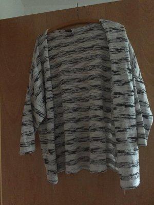 Atmosphere Cardigan en crochet blanc-noir