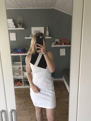 Adidas Avondjurk wit-zwart