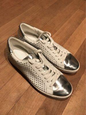 Weiß/Silber sneaker