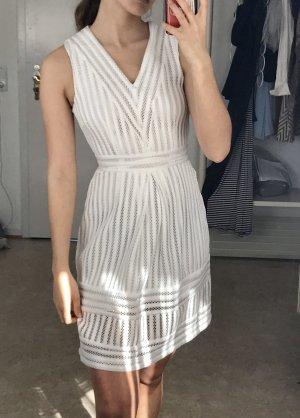 Weiß spitze Kleid h&m XS 34