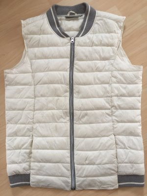 Blue Motion Quilted Gilet white-light grey polyester