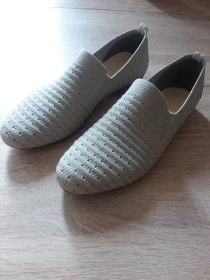 Rieker Pantofola grigio chiaro-beige chiaro