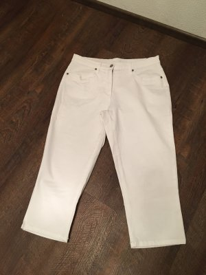 b.p.c. Bonprix Collection Pantalone a 3/4 bianco