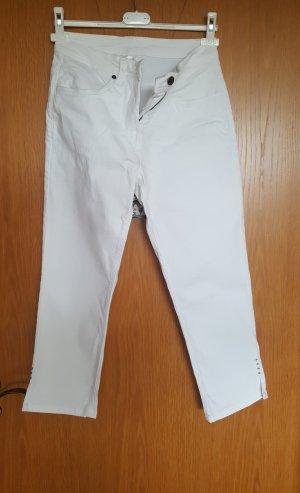 weiße 3/4 Hose Gr. 36