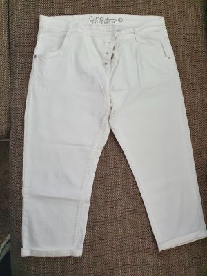 Gina Tricot Jeans a 3/4 bianco