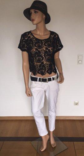 Weiße 3/4 Jeans von H & M