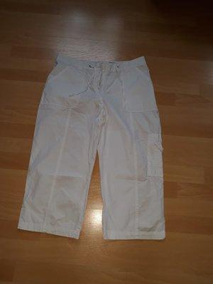 Canda 3/4 Length Trousers white cotton