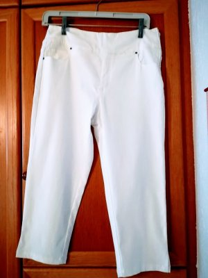 Collection L 7/8 Length Trousers white