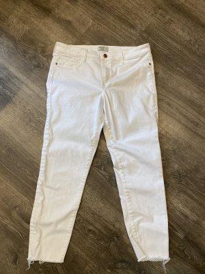 Abercrombie & Fitch Skinny jeans wit