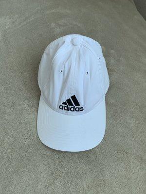 Weiße Adidas Cap Käppi