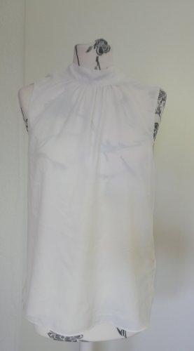 Weiße Ärmellose Bluse H&M 38