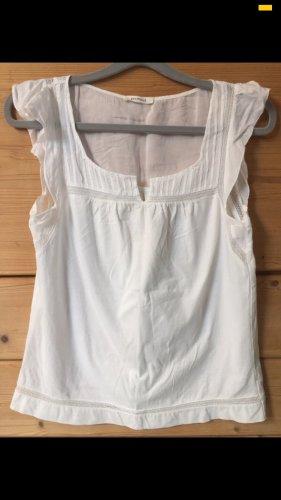 Weiße ärmellose Bluse von Promod