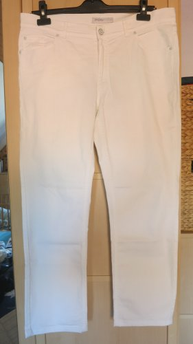 Angels Carrot Jeans white
