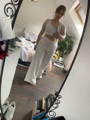 Weiße Anzugshose