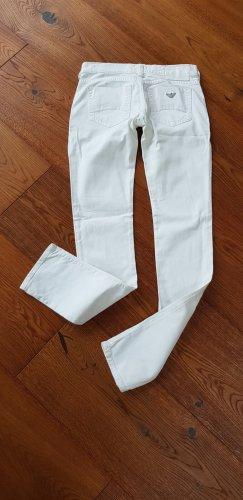 Armani Jeans Vijfzaksbroek wit Katoen