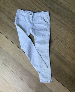 Replay Jeans larghi bianco Cotone