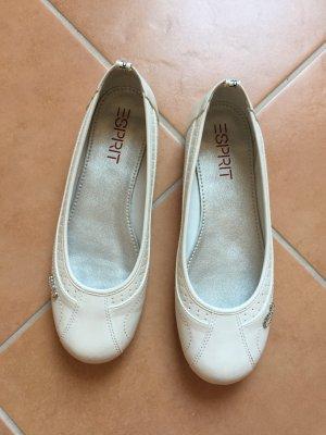 weiße Ballerinas von Esprit