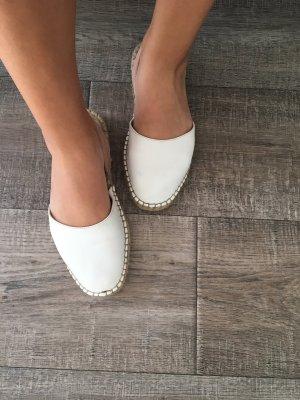Weiße Ballerinas Zara