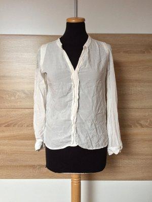 Weiße Basic Mango Bluse, Shirt von Mango, Gr. XS