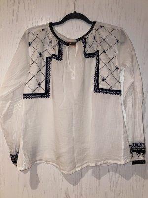 Weiße Baumwoll Bluse von Bash Gr. 1