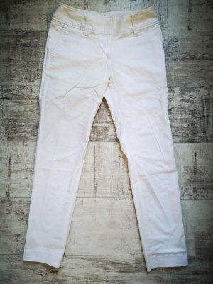 Weisse Baumwollhose Anzughose von H&M Neu Gr.34