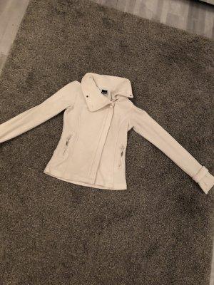 Weiße Bench Jacke