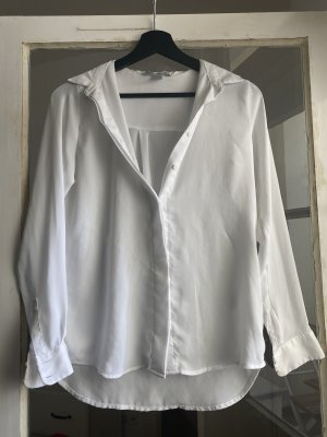 H&M Long Sleeve Blouse white