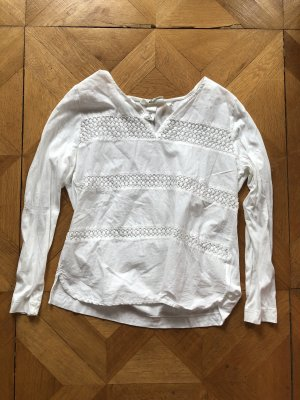 H&M Top lungo bianco