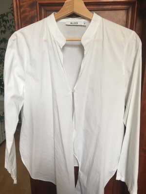 NA-KD Blouse portefeuille blanc