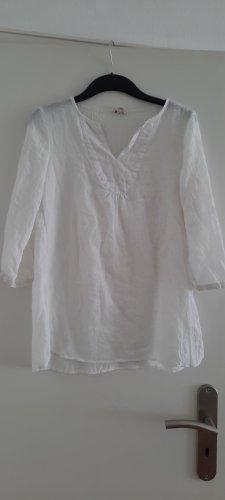 Esprit Blusa caída blanco