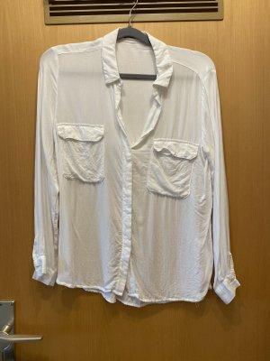 Mango Kołnierzyk koszulowy biały