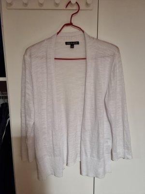 cable & gauge Transparentna bluzka biały