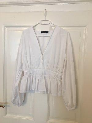 Bik Bok Long Sleeve Blouse white