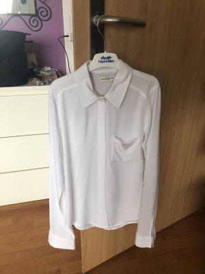 Weiße Bluse Abercrombie XS